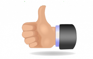 Thumbs up icon 300x190