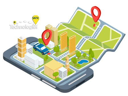 Satx GPS tracking App